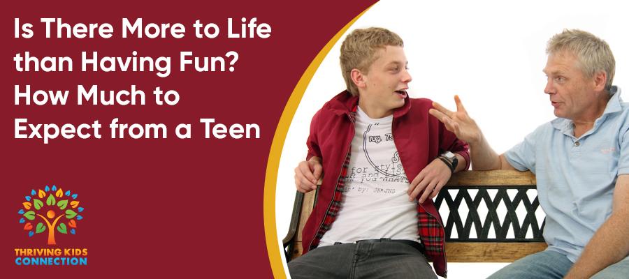 teens, fun, responsibility